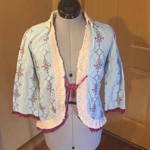 Odd Molly Front Tie Cardigan size 1